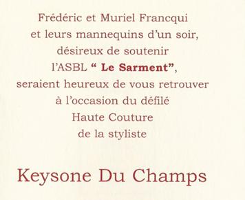 Défilé Keysone du Champs - Novembre 2002
