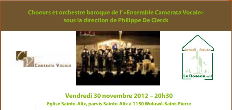 Chœurs et orchestre baroque - Novembre 2012